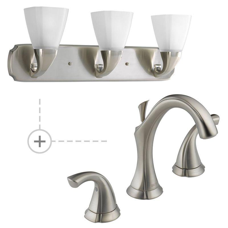 Delta 3592LF.P2848 Addison Widespread Bathroom Faucet - Includes
