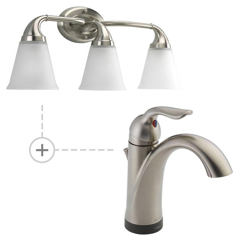 Delta 538T-DST.P2760 Lahara Single Hole Bathroom Faucet - Includes