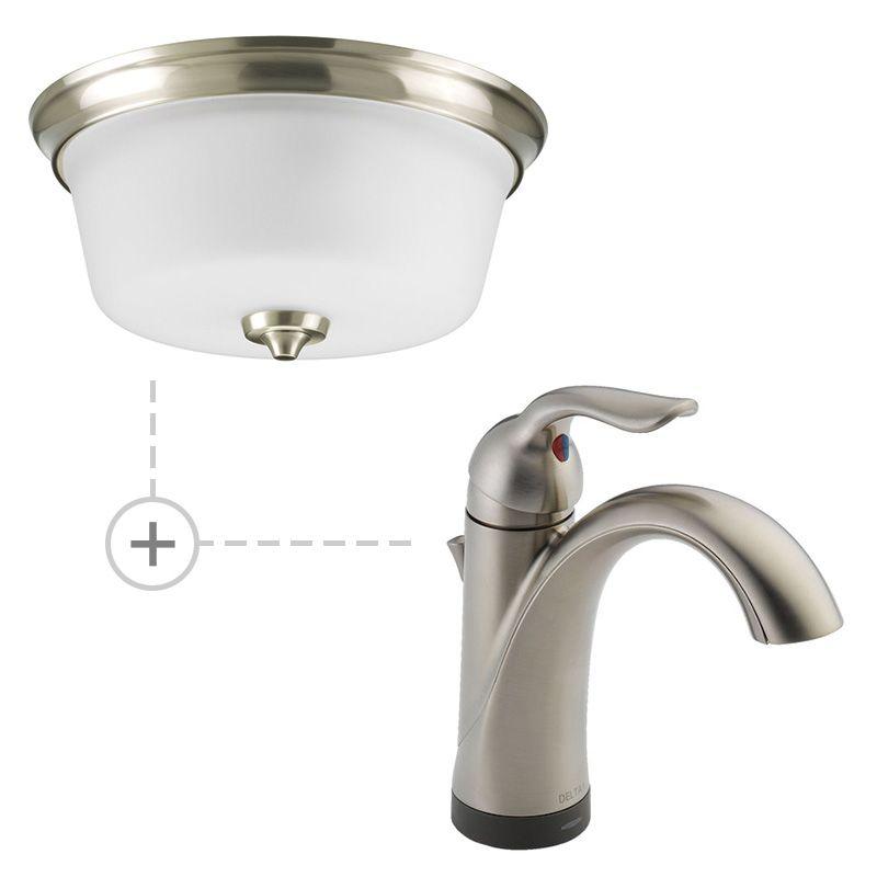 Delta 538T-DST.P3836 Lahara Single Hole Bathroom Faucet - Includes