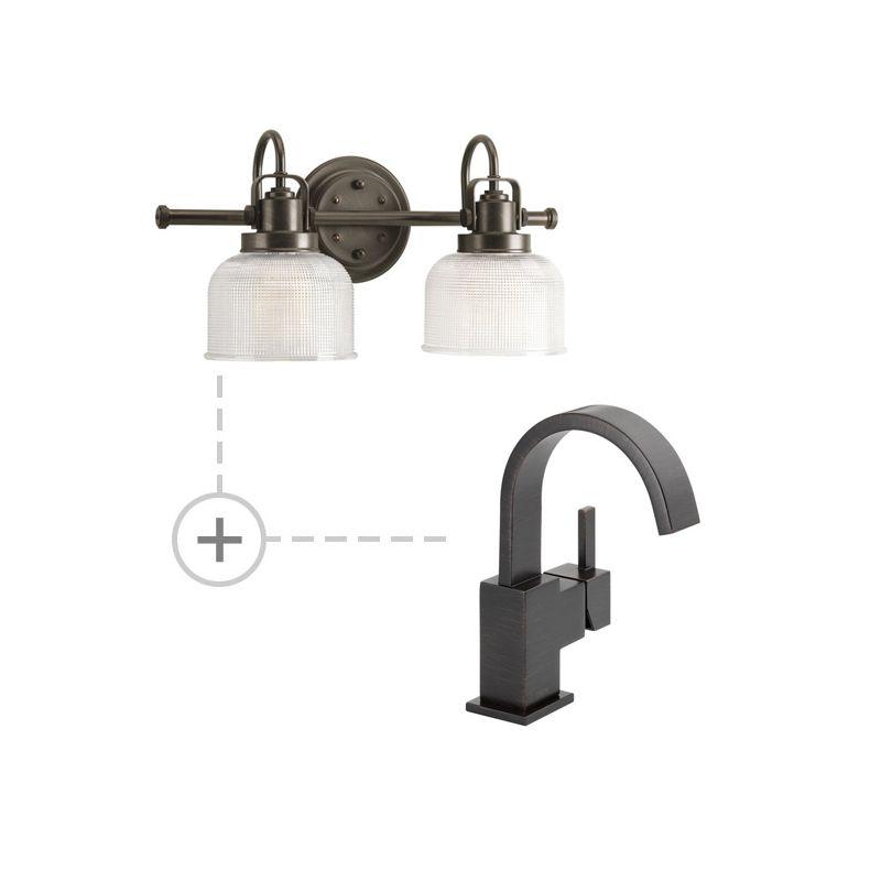 Delta 553LF.P2991 Vero Single Hole Bathroom Faucet - Includes Matching