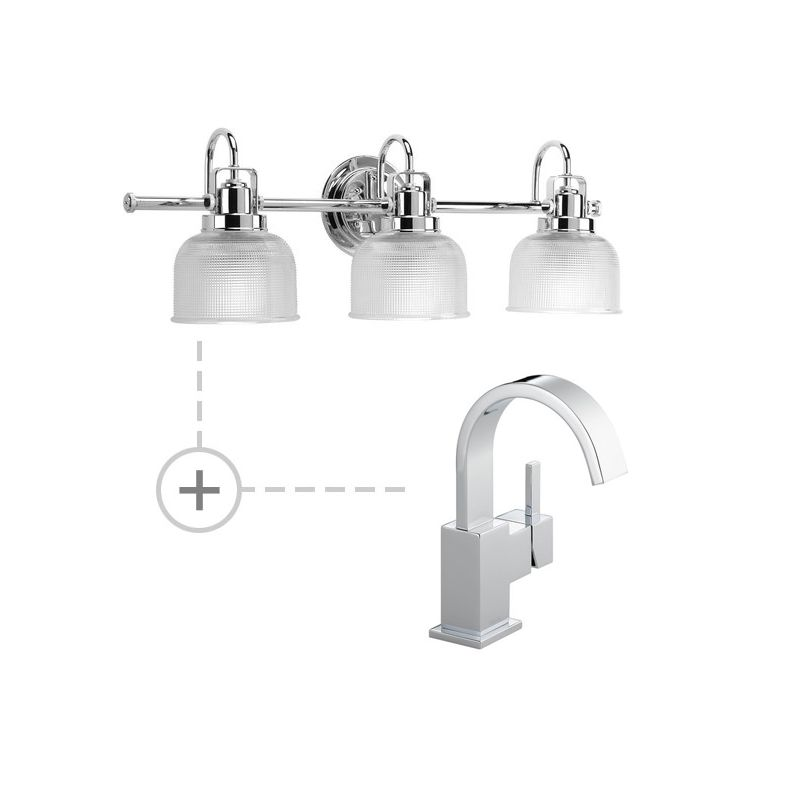 Delta 553LF.P2992 Vero Single Hole Bathroom Faucet - Includes Matching