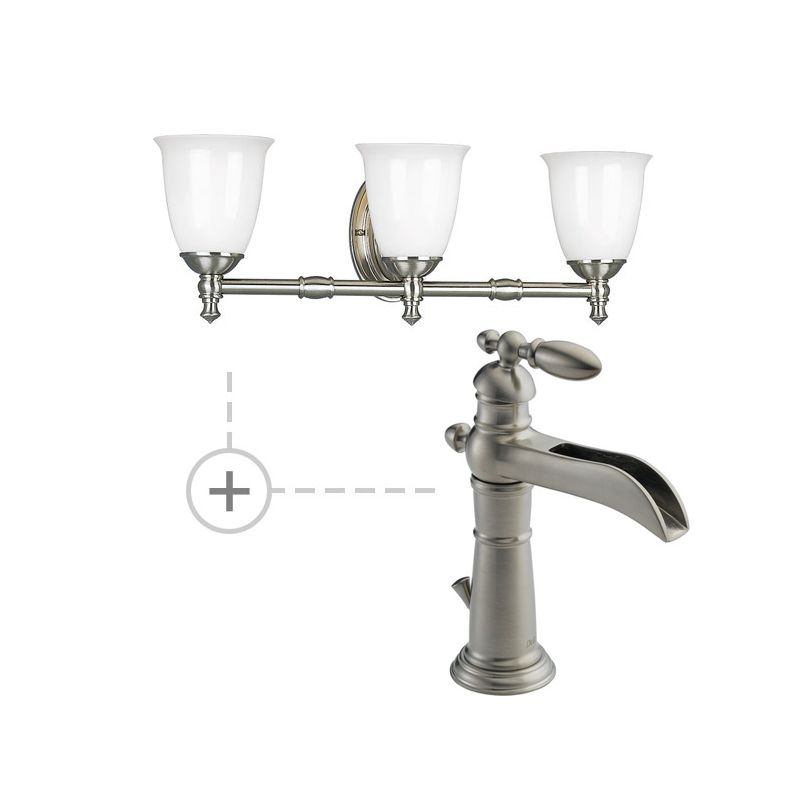 Delta 554LF.P3029 Victorian Single Hole Bathroom Faucet - Includes Sale $484.52 ITEM: bci2405905 ID#:554LF.P3029-Brilliance-Stainless UPC: 34449599382 :