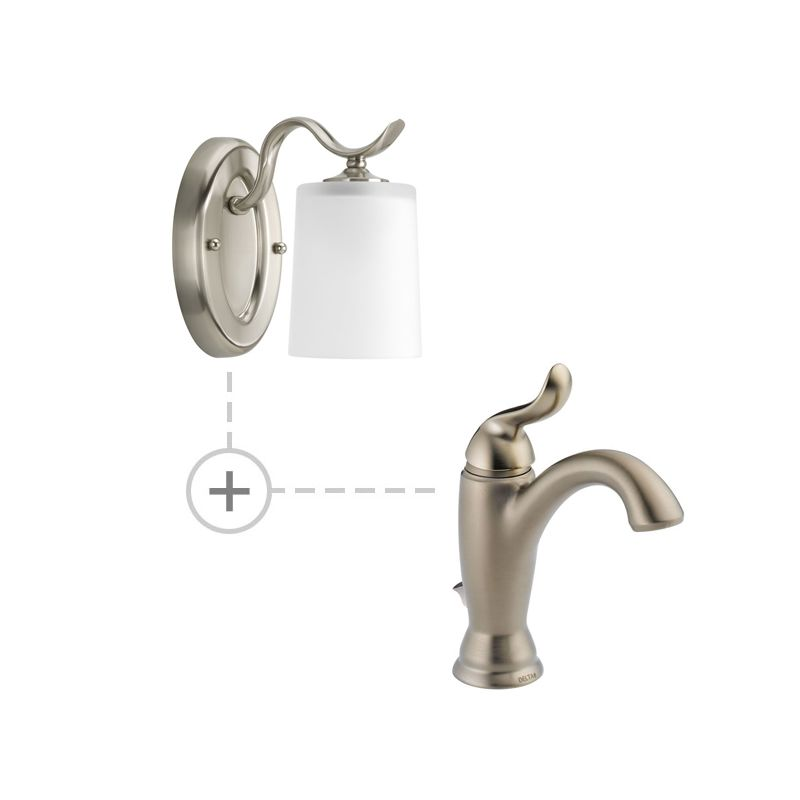 Delta 594-MPU-DST.P2018 Linden Single Hole Bathroom Faucet with