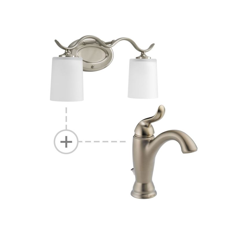 Delta 594-MPU-DST.P2019 Linden Single Hole Bathroom Faucet with