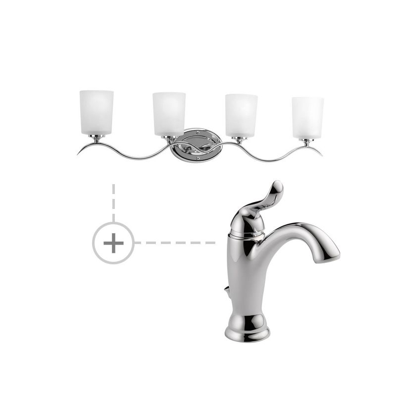 Delta 594-MPU-DST.P2021 Linden Single Hole Bathroom Faucet with