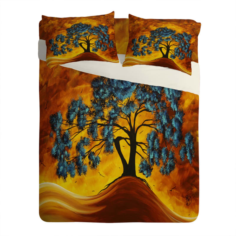 Deny Designs Dreaming In Color Bedding Madart Inc Duvet Cover King