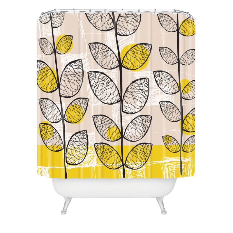 Deny Designs 50s Inspired Curtain Rachael Taylor Shower Curtaain 69 x