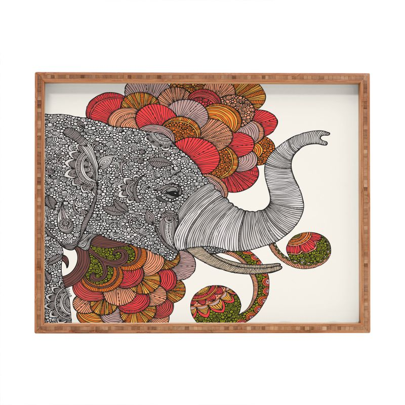 Deny Designs Dreams Of India Rectangular Tray Valentina Ramos