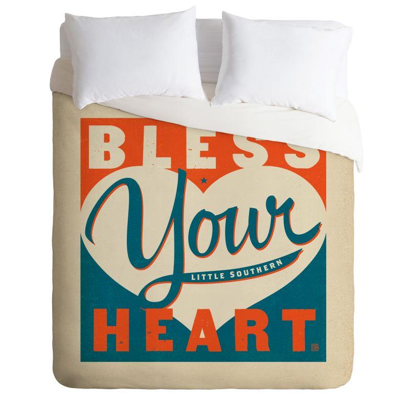 Deny Designs Bless Your Heart Bedding Anderson Design Group Duvet