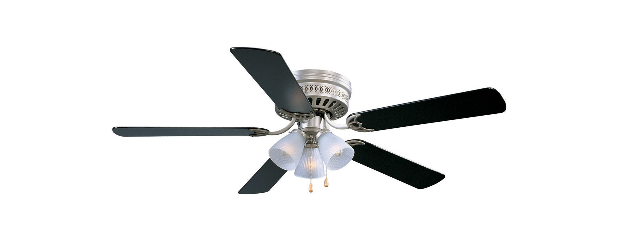 "Design House 156018 52"" 5 Blade Hugger Ceiling Fan with Satin Nickel Sale $101.93 ITEM: bci1285611 ID#:156018 UPC: 44321156015 :"