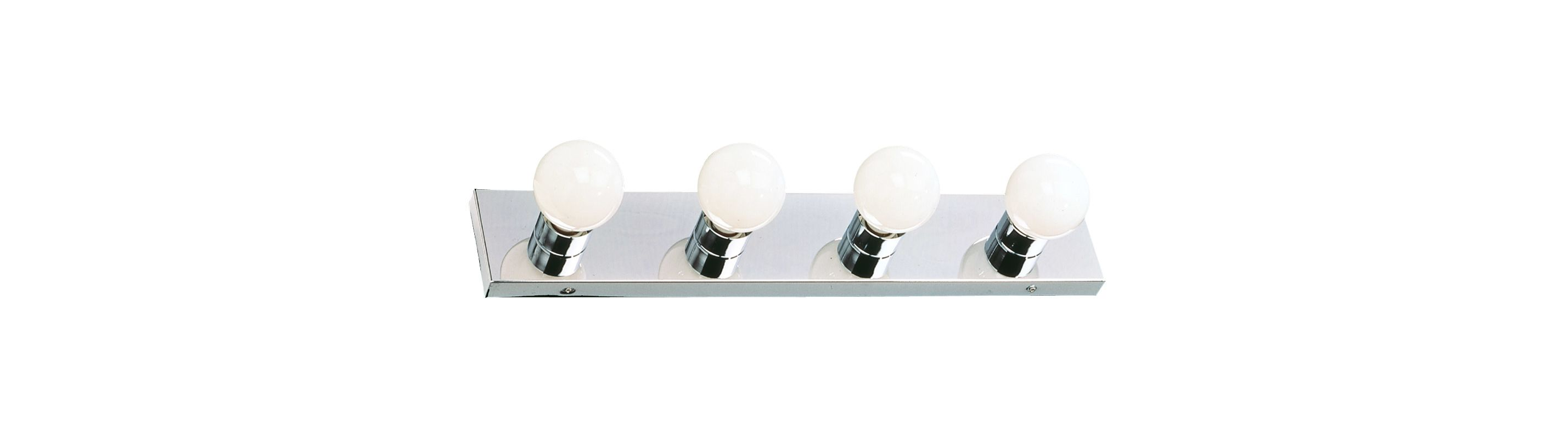 Design House 500892 Strip Light Traditional / Classic 4 Light Ambient