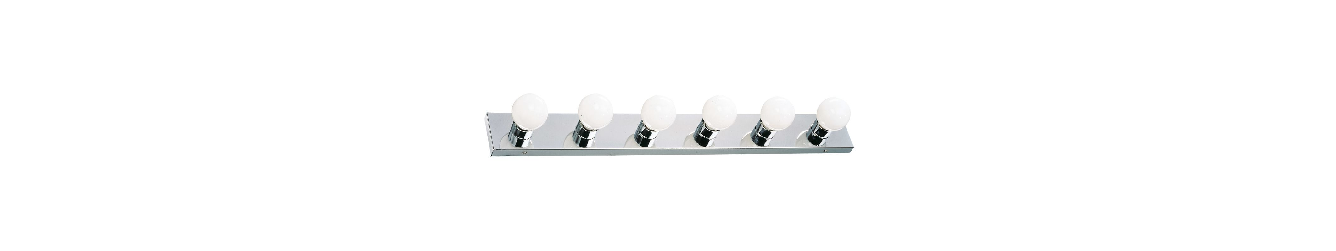 Design House 500942 Strip Light Traditional / Classic 6 Light Ambient