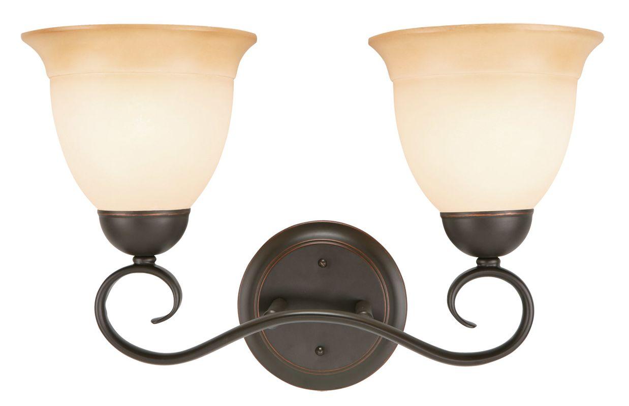 Design House 512640 Cameron Traditional / Classic 2 Light Up Lighting