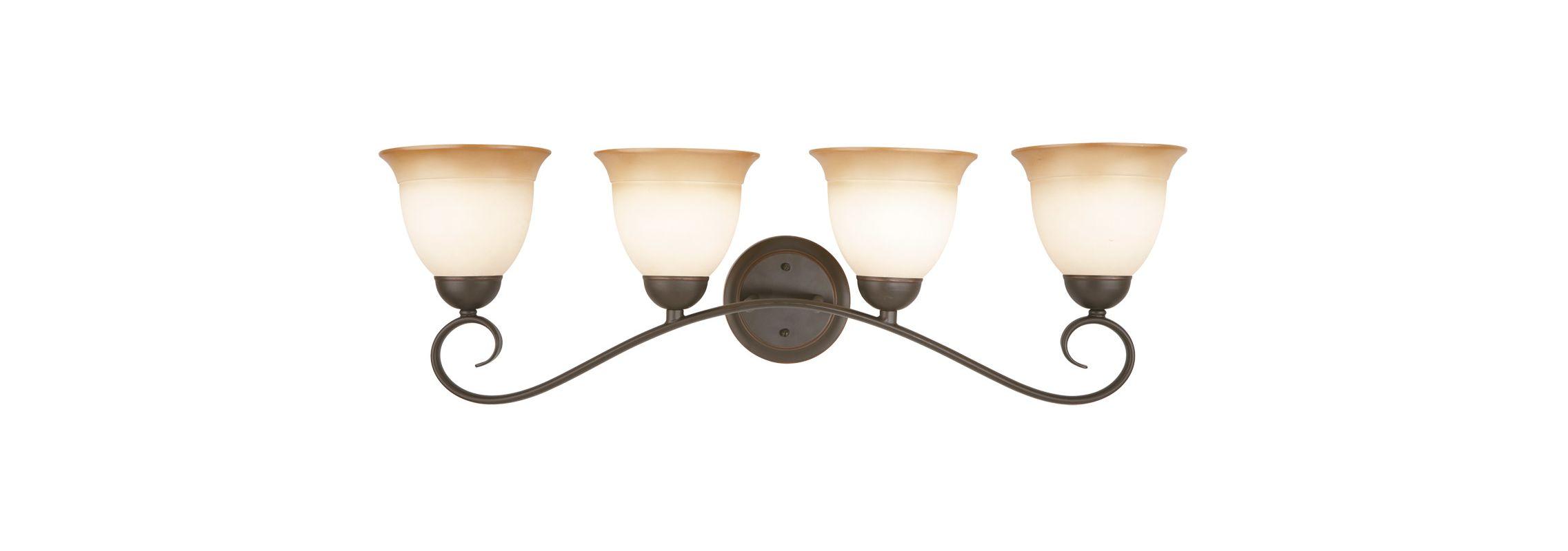 Design House 512673 Cameron Traditional / Classic 4 Light Up Lighting