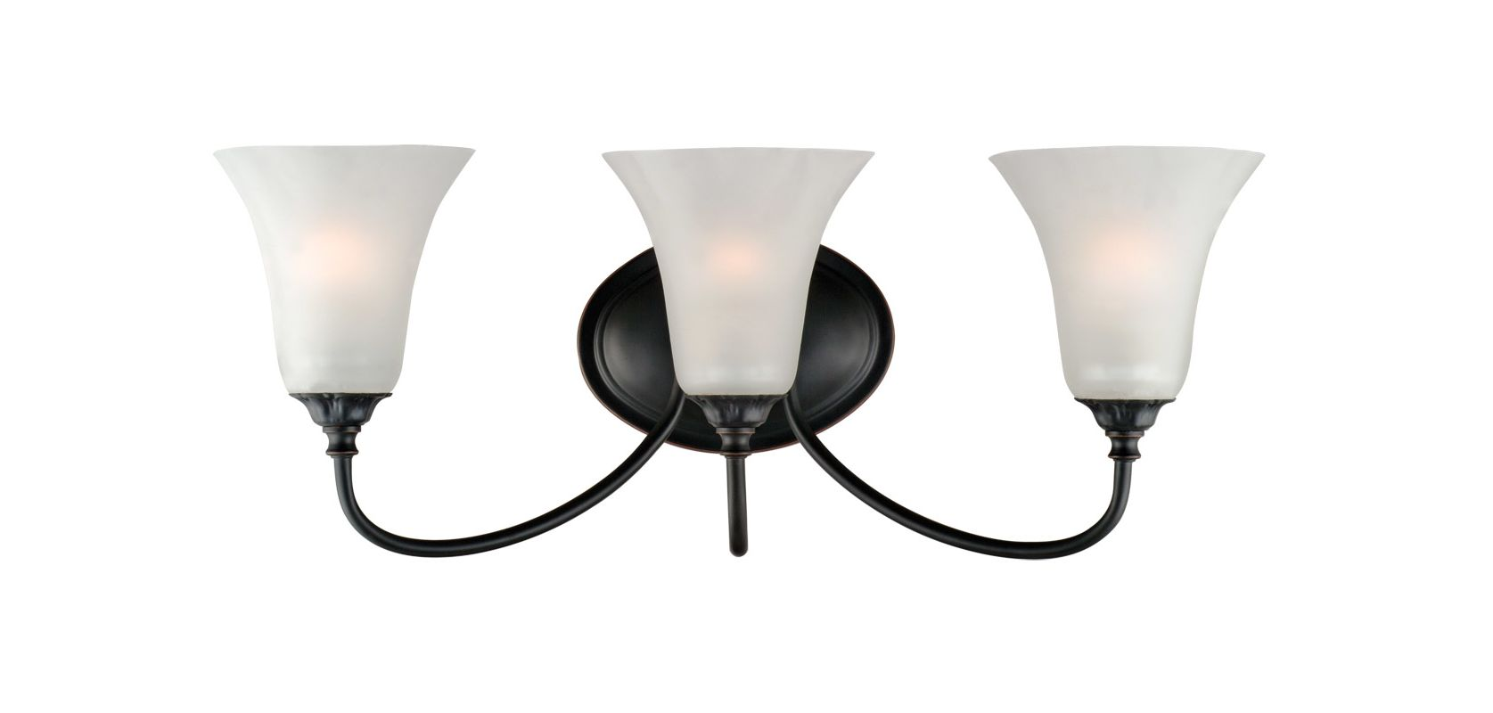 Design House 514638 Oil Rubbed Bronze Hyde Traditional Classic 3 Light Up O