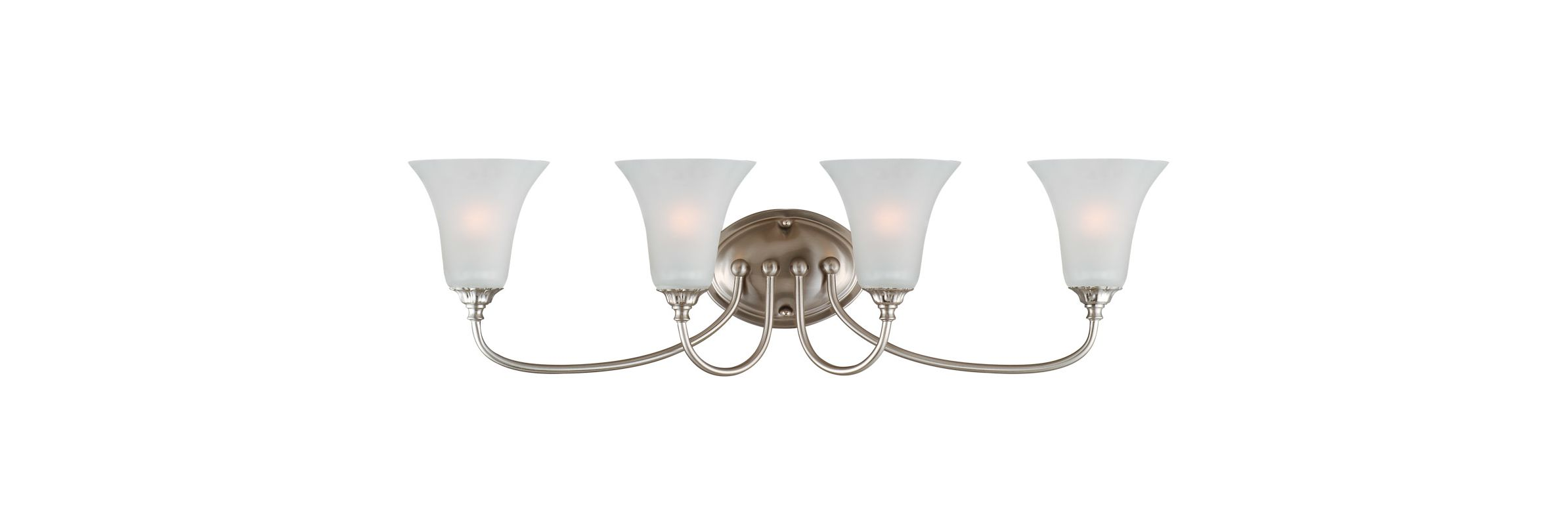Vanity Lights Up Or Down : Design House 514737 Satin Nickel Hyde Traditional / Classic 4 Light Up or Down Lighting Bathroom ...