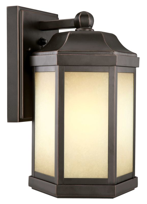 bronze single light down light outdoor wall sconce with photocell. Black Bedroom Furniture Sets. Home Design Ideas