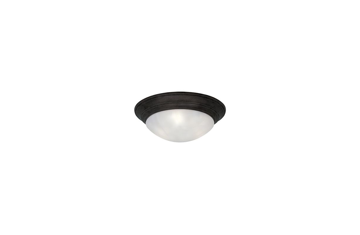 "Designers Fountain 1245S-ORB 1 Light 11.5"" Small Size Flush Mount from"