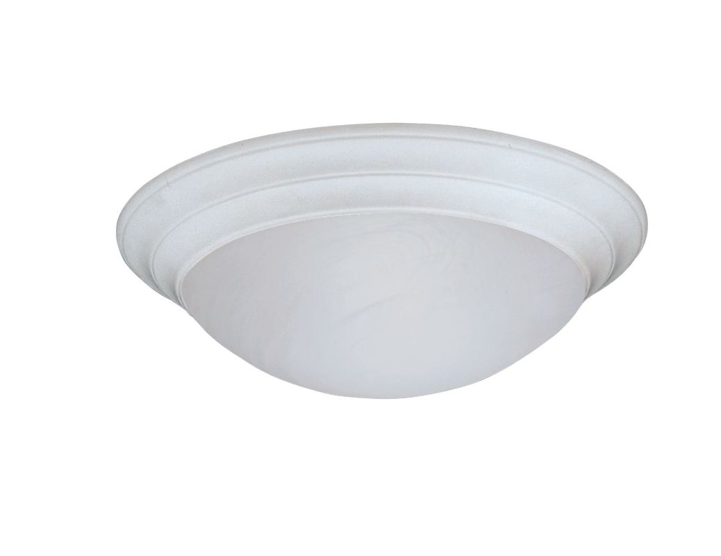 "Designers Fountain 1245M-WH 2 Light 14"" Medium Size Flush Mount with"