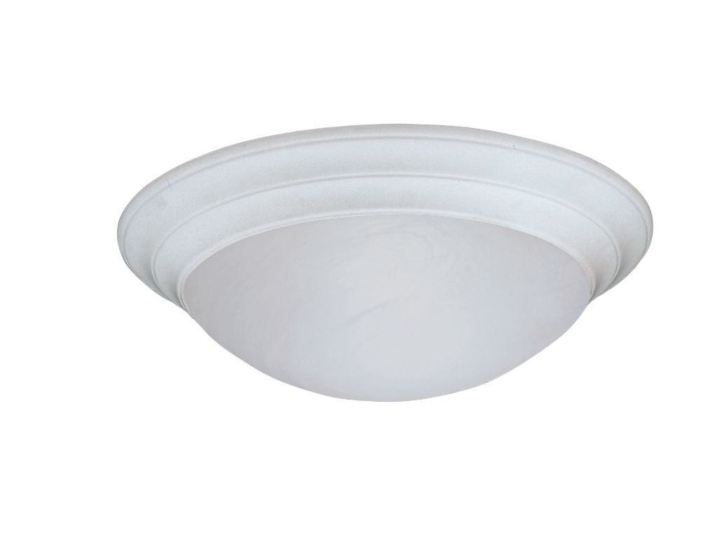 "Designers Fountain 1245S-WH 1 Light 11.5"" Small Size Flush Mount with"