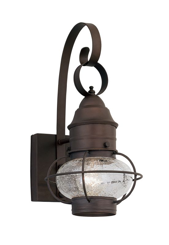 "Designers Fountain 1751-RT 1 Light Outdoor 7"" Onion Wall Lantern from"
