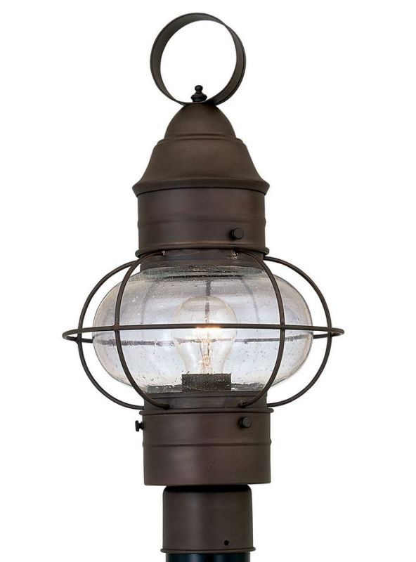 "Designers Fountain 1766-RT 1 Light 10"" Onion Post Lantern from the"
