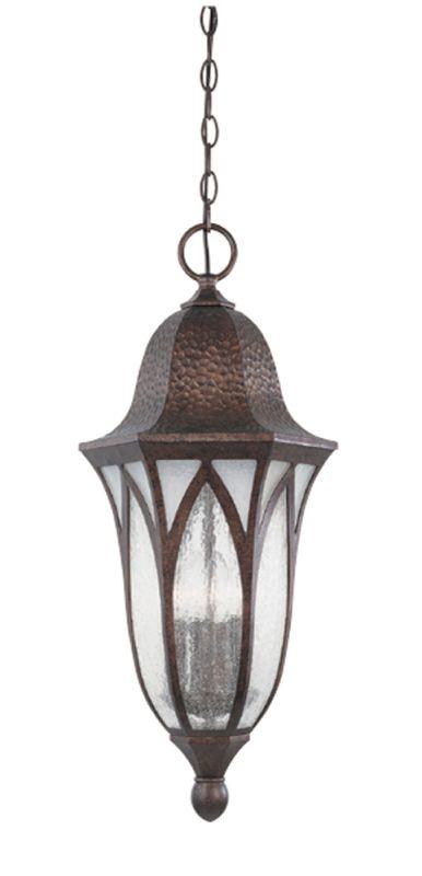 "Designers Fountain 20634-BAC 4 Light 11"" Cast Aluminum Hanging Lantern"