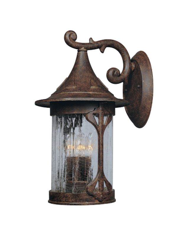 "Designers Fountain 20931-CHN 4 Light 11"" Cast Aluminum Wall Lantern"