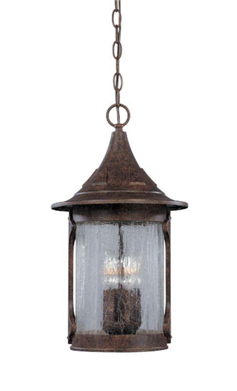 "Designers Fountain 20934-CHN 4 Light 11"" Cast Aluminum Hanging Lantern"