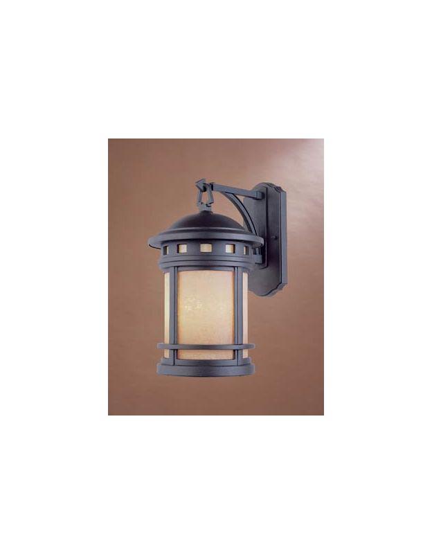 "Designers Fountain 2381-AM-ORB 3 Light 9"" Cast Aluminum Wall Lantern"
