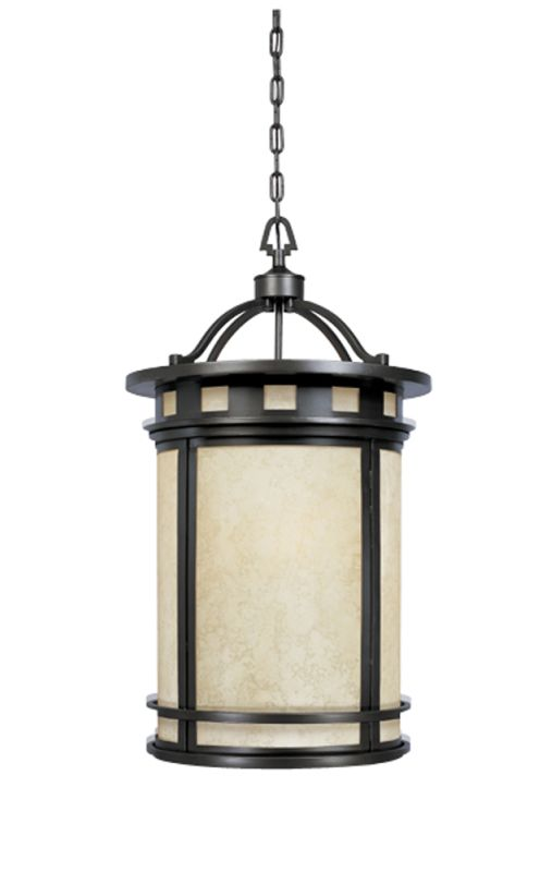 Designers Fountain 23853-AM-ORB 3 Light Foyer Pendant from the Sedona