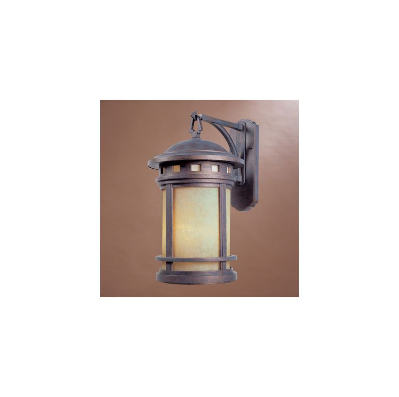 "Designers Fountain 2391-AM-MP 3 Light 11"" Cast Aluminum Wall Lantern"