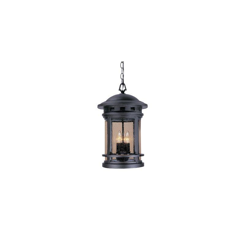 "Designers Fountain 2394-ORB 3 Light 11"" Cast Aluminum Hanging Lantern"