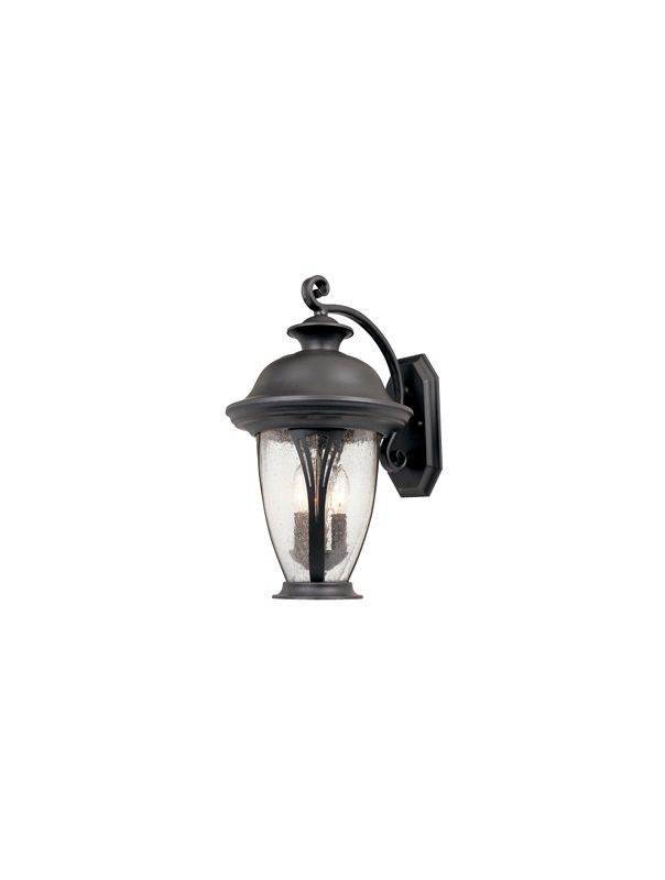 "Designers Fountain 30521-BZ 2 Light 9"" Wall Lantern from the"
