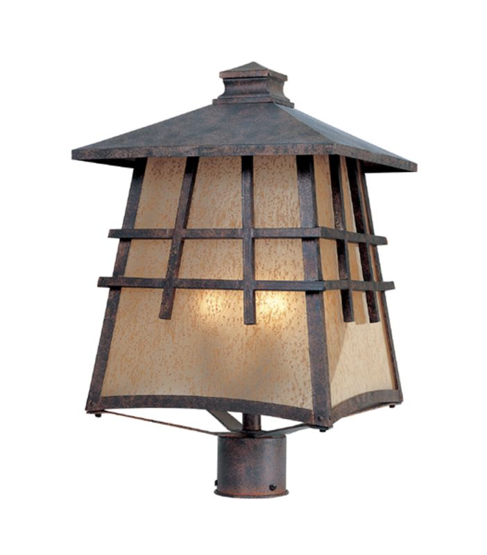 "Designers Fountain 30726-MP 4 Light 12"" Post Lantern from the Oak Park"