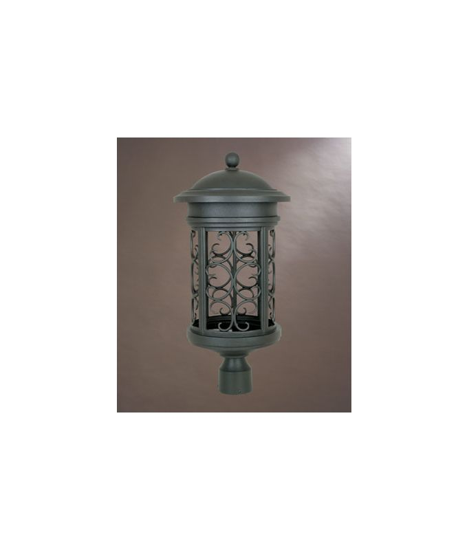 "Designers Fountain 31136-ORB 1 Light 11"" Post Lantern from the Dark"