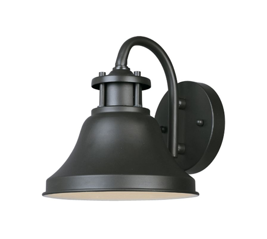 "Designers Fountain 31311-BZ 1 Light 7"" Wall Lantern from the Bayport"