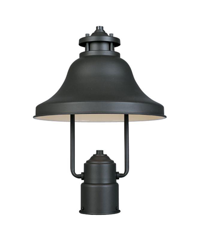 "Designers Fountain 31336-BZ 1 Light 11"" Post Lantern from the Bayport"