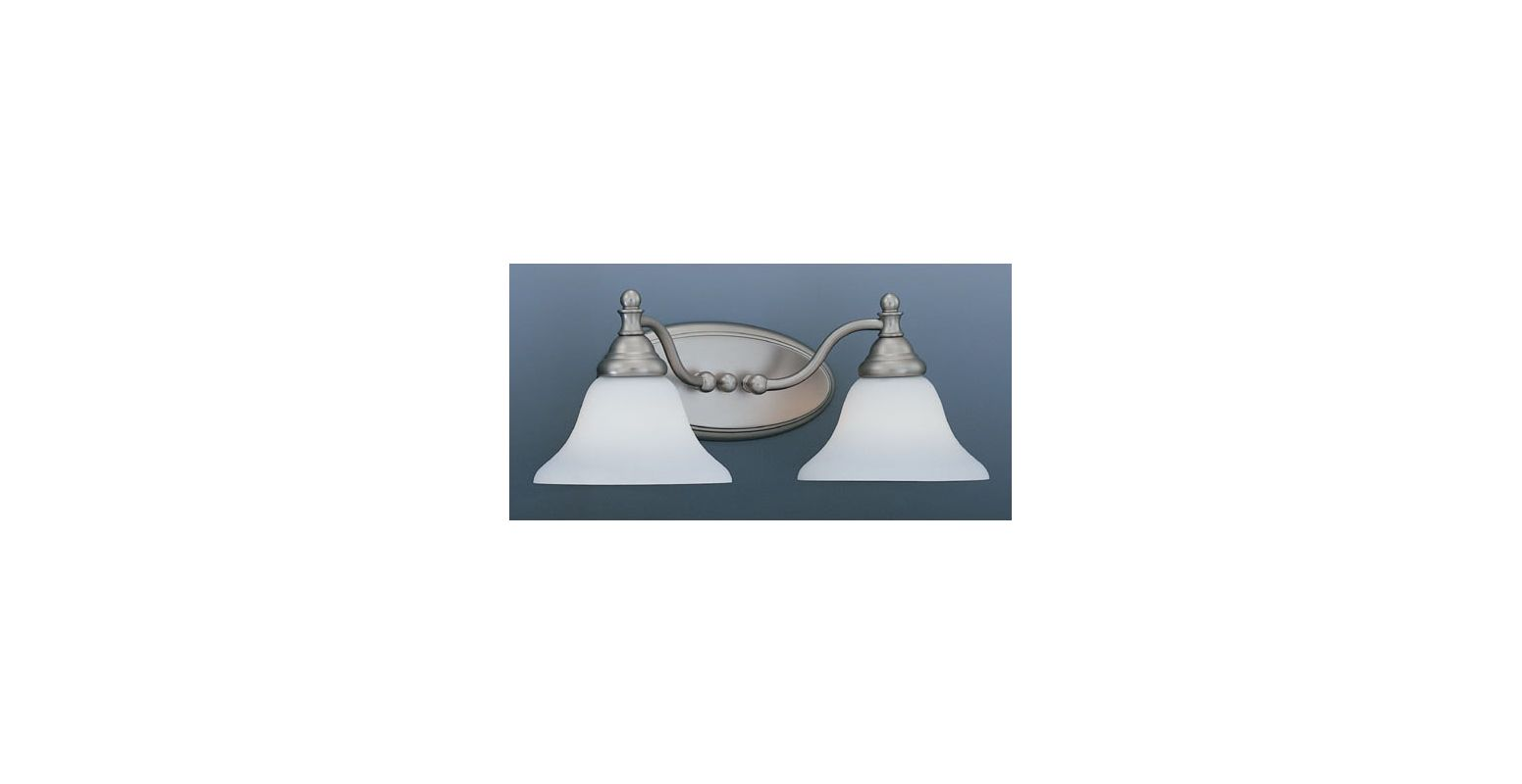 Designers Fountain 4772-PW 2 Light Bath Bar from the Savon Collection