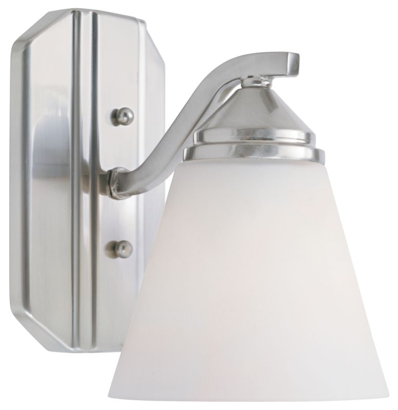 Designers Fountain 6601 100 Watt Single Light Bathroom Fixture from