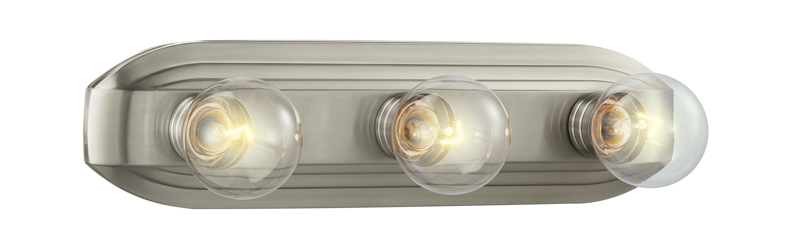Designers Fountain 6613 Three Light 300 Watt Bathroom Fixture from the
