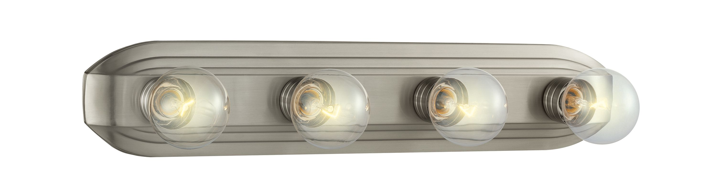 Designers Fountain 6614 Four Light 400 Watt Bathroom Fixture from the