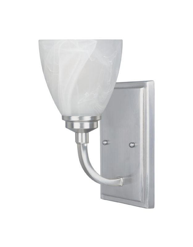 Designers Fountain 82901 1 Light Wall Sconce from the Tackwood Sale $42.75 ITEM: bci1040820 ID#:82901-SP UPC: 46335944817 :