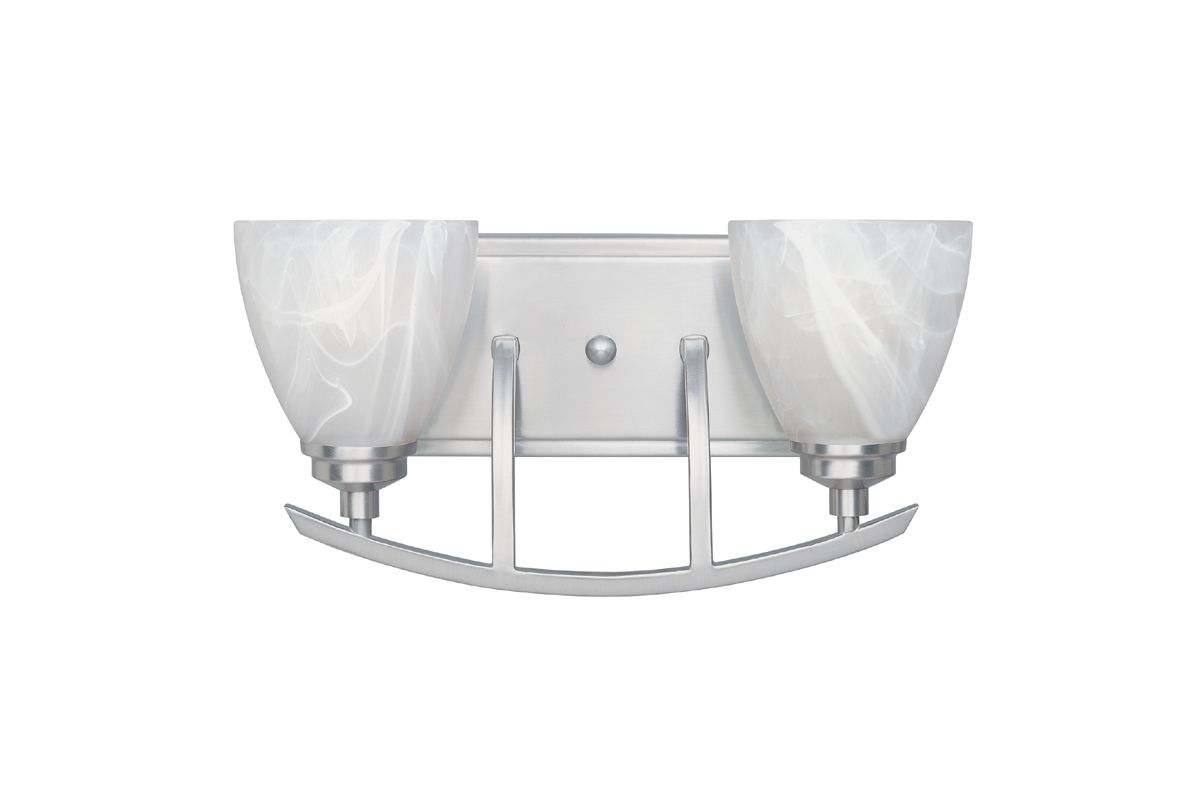 Designers Fountain 82902 2 Light Bathroom / Vanity Fixture from the