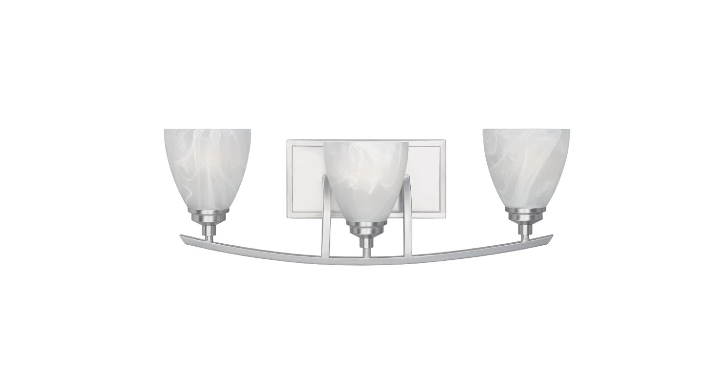 Designers Fountain 82903 3 Light Bathroom / Vanity Fixture from the