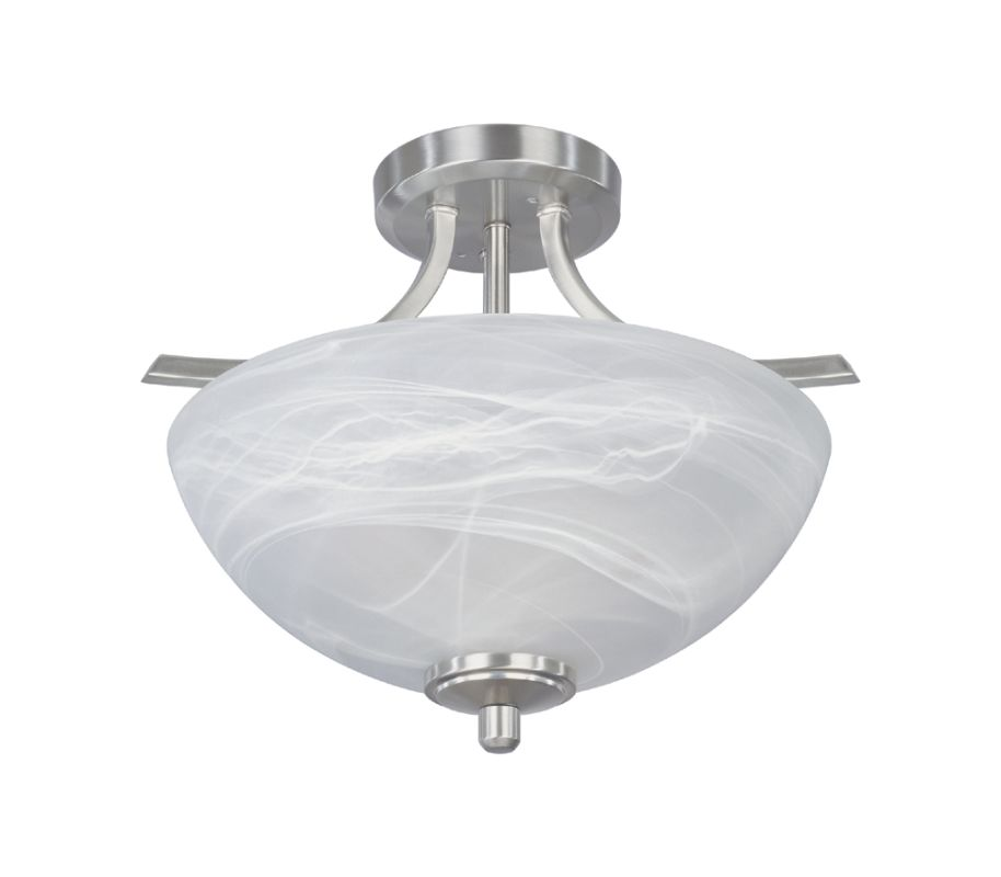 Designers Fountain 82911 2 Light Semi-Flush Ceiling Fixture from the