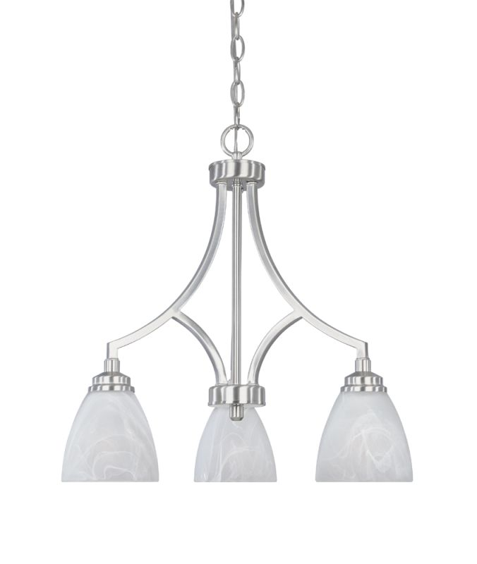 Designers Fountain 82983 3 Light Chandelier from the Tackwood