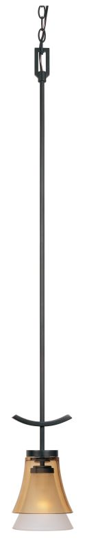 Designers Fountain 83130 Single Light 100 Watt Mini Pendant from the