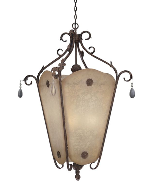 "Designers Fountain 91402-AO 9 Light 36"" Foyer Fixture from the San"