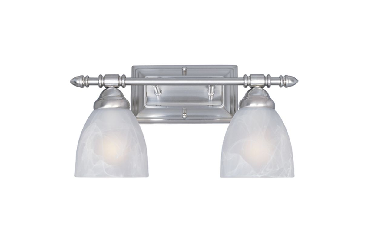 "Designers Fountain 94002 Two Light Down Lighting 15.75"" Wide Bathroom"